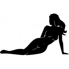 Adult muursticker: 10130 - Sexy zeemeermin