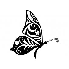 10235 - Bewerkte vlinder opzij