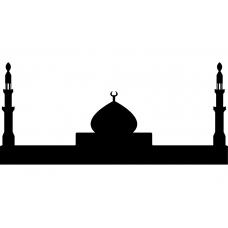 Spiritueel muursticker: 10217 - Moskee