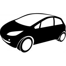 Auto muursticker: 10246 - Supercar MPV
