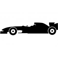 Auto muursticker: 10248 - Supercar Formule 1 auto