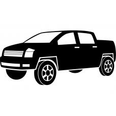 Auto muursticker: 10249 - Supercar terreinwagen