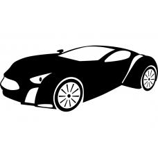 10250 - Supercar sportwagen spaakwiel