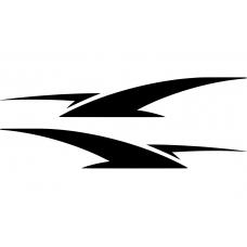 Auto striping muursticker: 10257 - Auto striping wings