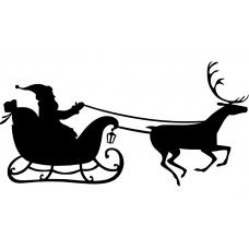 10191 - Kerstman met slee