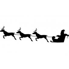 10192 - Kerstman met drie rendieren