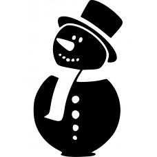 10199 - Grappige sneeuwpop