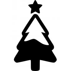 10201 - Kerstboom met sneeuw