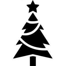 10202 - Kerstboom met slingers
