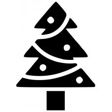 10205 - Kerstboom versierd