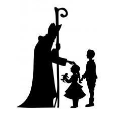 10179 - Sinterklaas met kinderen