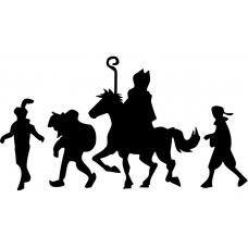 10181 - Sint te paard met Pieten