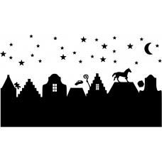10182 - Paard van Sinterklaas over de daken