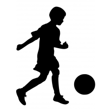 10155 - Voetballend jongetje