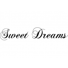 Spiritueel muursticker: 10273 - Sweet dreams