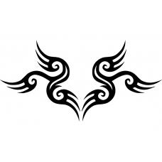 10219 - Tribal sierlijke krul